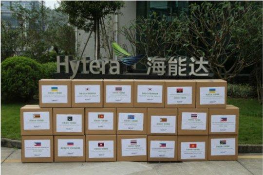Hytera berpartisipasi secara aktif dalam melawan COVID-19, dalam upaya pencegahan kontaminasi silang