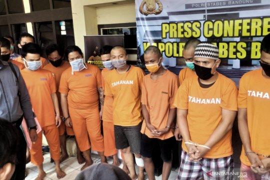 Napi asimilasi di Bandung ditangkap polisi karena kembali berulah
