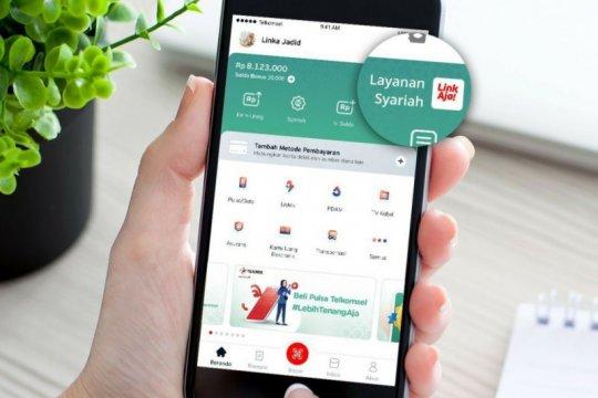 LinkAja luncurkan layanan uang elektronik syariah pertama di Indonesia