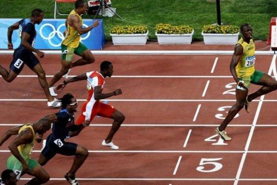 Ketika Usain Bolt menunjukkan 'social distancing'