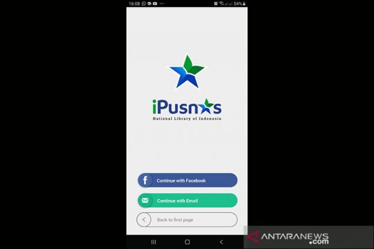 Perpusnas : PSBB bisa diisi dengan membaca buku melalui aplikasi