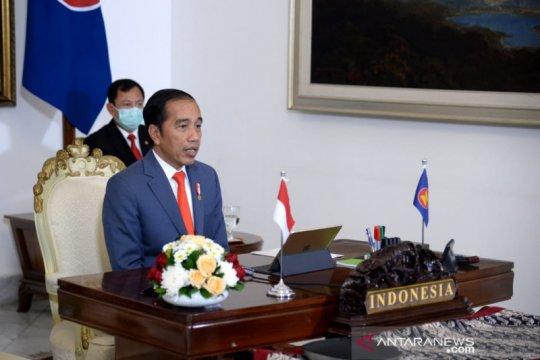 Presiden Jokowi ajak ASEAN Plus 3 bentuk Gugus Tugas hadapi pandemi