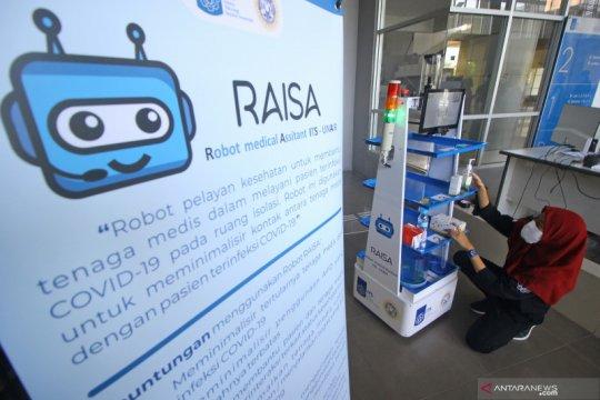 Kurangi kontak dengan pasien COVID-19, ITS dan RSUA ciptakan robot RAISA