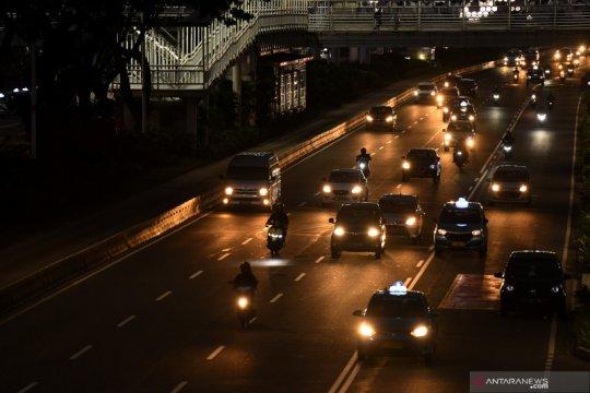 Pos Pemeriksaan PSBB Jaya beroperasi 24 jam