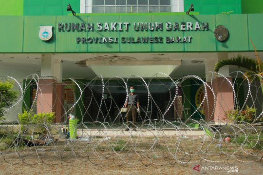 RSUD Sulawesi Barat pasang kawat berduri