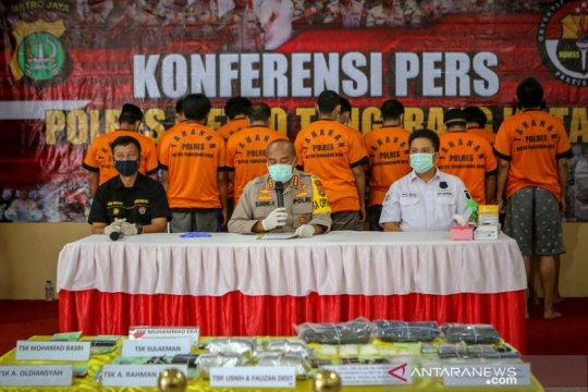 Pengungkapan narkoba jaringan lapas Jakarta dan Banten