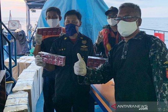 Bea Cukai Aceh gagalkan penyelundupan rokok senilai Rp10,36 miliar