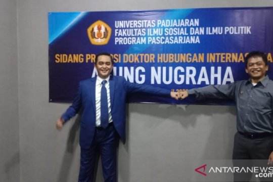 2 Doktor Siber pertama lulus sidang ujian daring di Indonesia