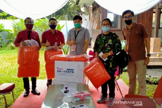 Gugus Tugas COVID-19 Kota Bogor salurkan bantuan APD
