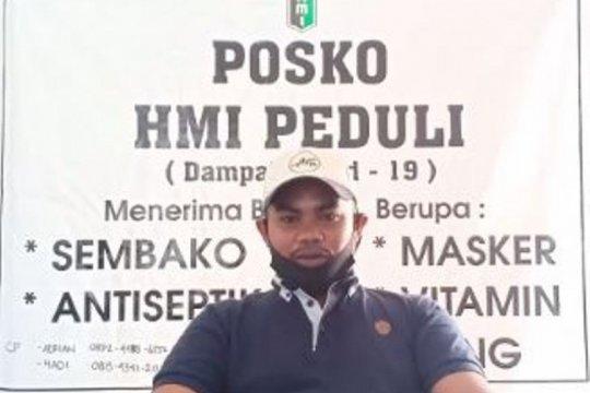 HMI Jayapura serukan warga ikuti anjuran pemerintah cegah COVID-19