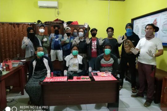 Polisi Bangka Barat ringkus tiga pelaku penyalahgunaan sabu-sabu