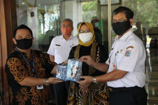 Pemkot Jaksel terima 5.350 masker bantuan dunia usaha