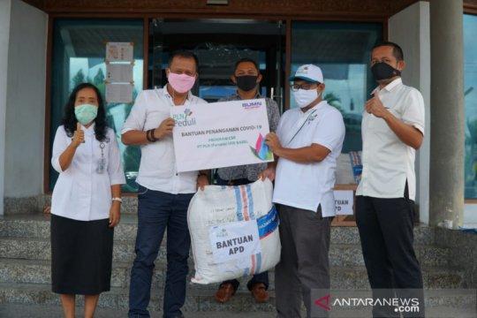 PLN Babel bantu APD untuk tenaga medis