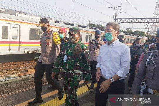 KRL angkut 110 ribu penumpang dari Stasiun Bogor