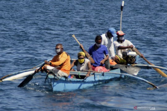 Kapolda imbau nelayan NTT selalu jaga kesehatan saat beraktivitas
