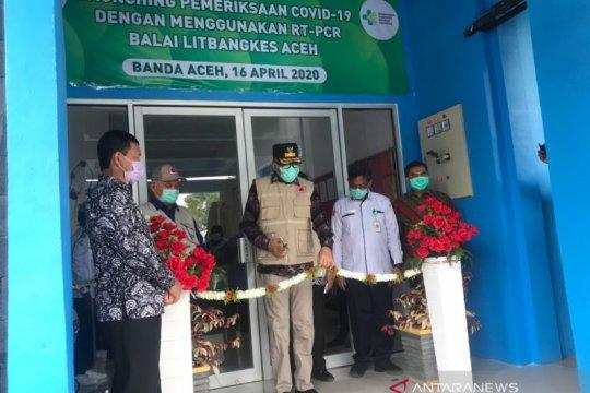 Aceh sudah bisa lakukan pemeriksaan swab COVID-19