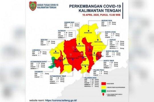 Kasus positif COVID-19 di Kalteng bertambah menjadi 34 orang