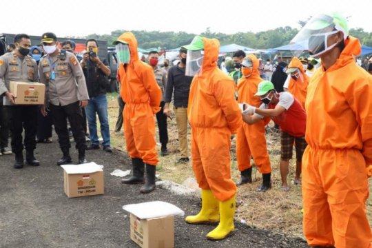 Kaopspus Aman Nusa pastikan pemakaman korban COVID-19 sesuai protokol