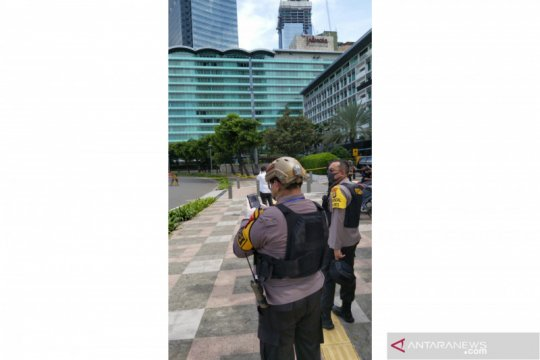 Benda mencurigakan di Hotel Indonesia Kempinski hanya tas kosong