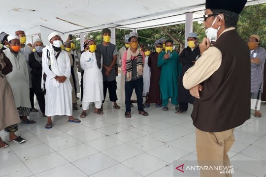 73 anggota Jamaah Tabligh Kabupaten Gorontalo selesai jalani karantina