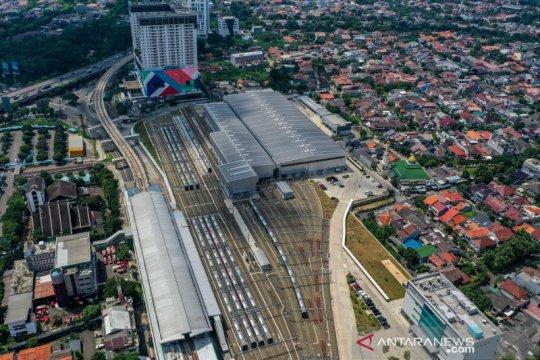 Penurunan penumpang MRT saat PSBB