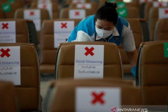 Thailand laporkan enam kasus baru corona, tak ada tambahan kematian