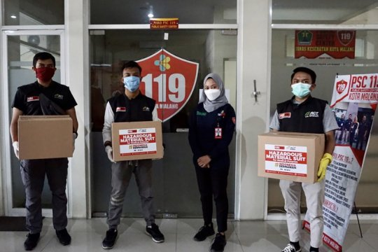 ACT salurkan bantuan ratusan APD di Malang Raya