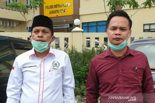 Anggota DPRD dampingi warga laporkan pengembang ke Polres Jakpus