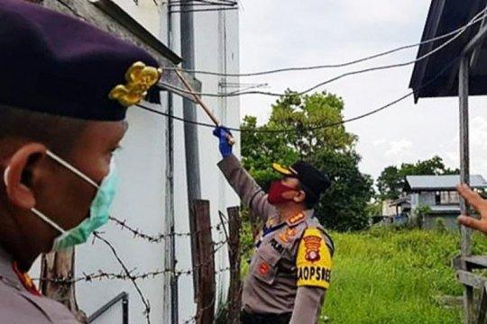 Polisi Palangka Raya tangkap pencuri sarang walet
