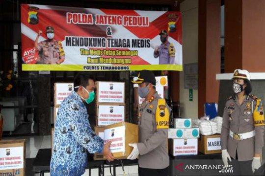 Polres Temanggung beri bantuan APD tenaga medis RSUD