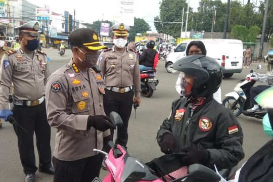 "Polisi: Ada 16 ""check point"" di Kabupaten Tangerang selama PSBB"
