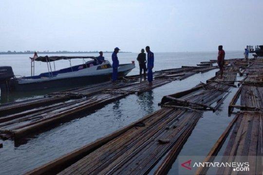 Polda Riau sita 50 ton kayu tanpa dokumen di Kepulauan Meranti