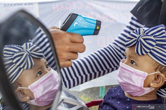 Kondisi balita positif COVID-19 Riau stabil, boleh ditemani orangtua