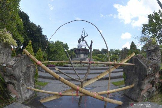 Penutupan fasilitas publik di Denpasar
