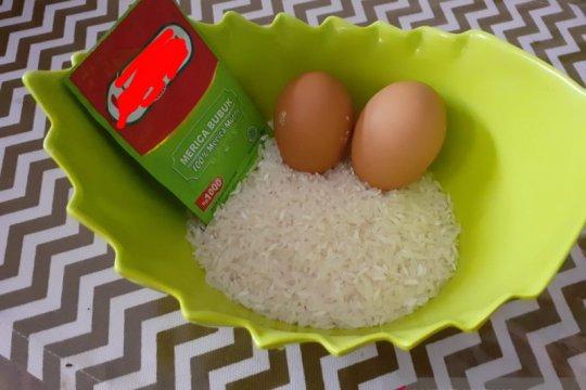 Bubur putih telur, diet untuk pasien COVID-19 di Batam