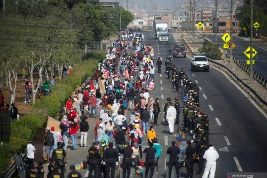 Peru laporkan jumlah kasus COVID-19 tertinggi kedua Amerika Latin