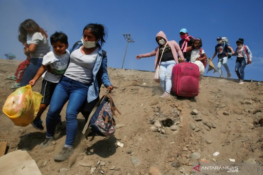 Ratusan perempuan dilaporkan hilang di Peru selama pembatasan sosial