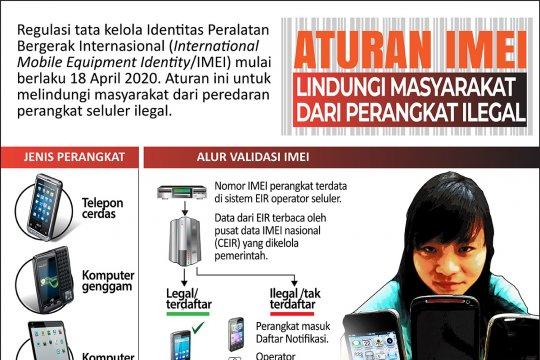 Aturan IMEI lindungi masyarakat dari perangkat ilegal