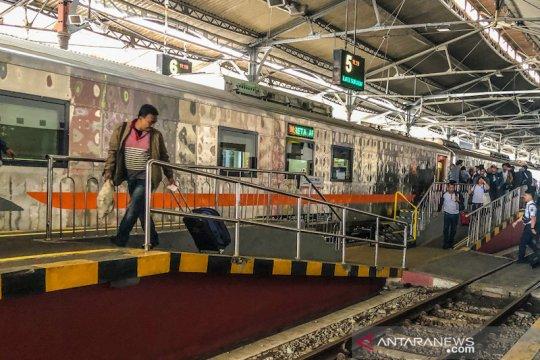 Okupansi kereta jarak jauh Daop 6 Yogyakarta tinggal 10 persen