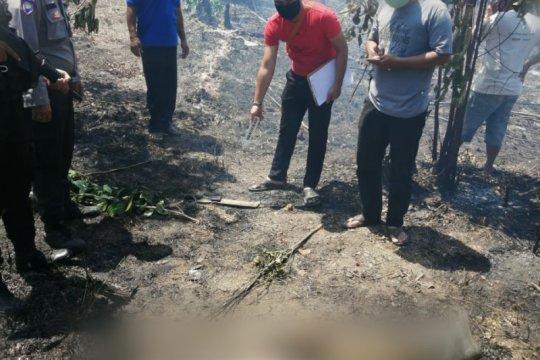 Seorang warga Tanjungpinang tewas terbakar di lahan miliknya