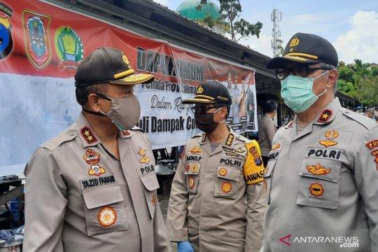 Polda Kalsel siap tegakkan hukum, dukung PSBB di Banjarmasin