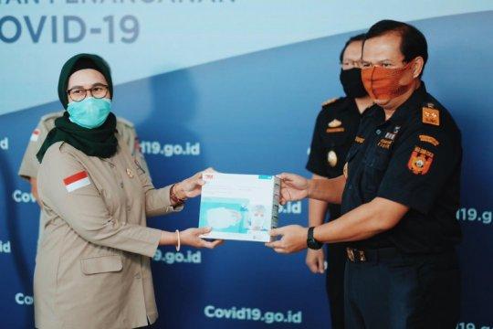 Ditjen Bea Cukai hibahkan puluhan ribu masker ke BNPB