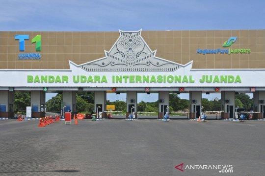 Jumlah penumpang Bandara Juanda melonjak pada triwulan III