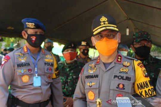 Kapolda Jambi minta tindak tegas pelaku kejahatan saat pandemi