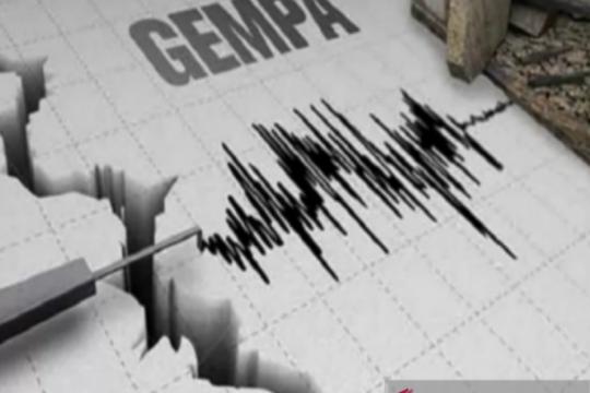 Gempa magnitudo 5,6 guncang Padang Lawas Sumatera Utara