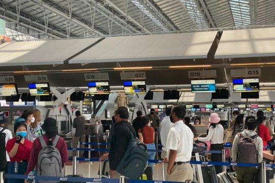 KBRI Bangkok pulangkan WNI terdampak larangan penerbangan komersial