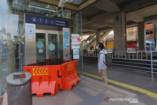 Sepanjang April, penumpang MRT Jakarta hanya 4 ribuan orang
