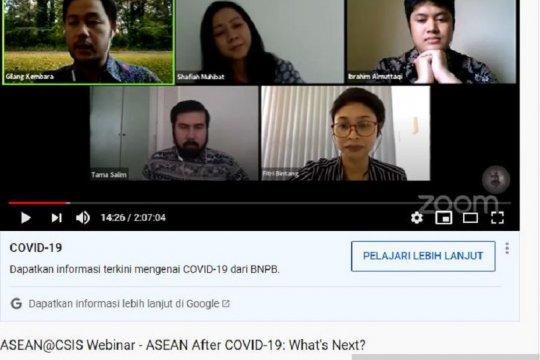 Pengamat dorong ASEAN perluas mandat AHA Center guna hadapi COVID-19