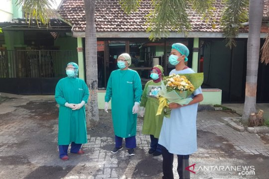 Satu pasien positif COVID-19 Kota Probolinggo dinyatakan sembuh