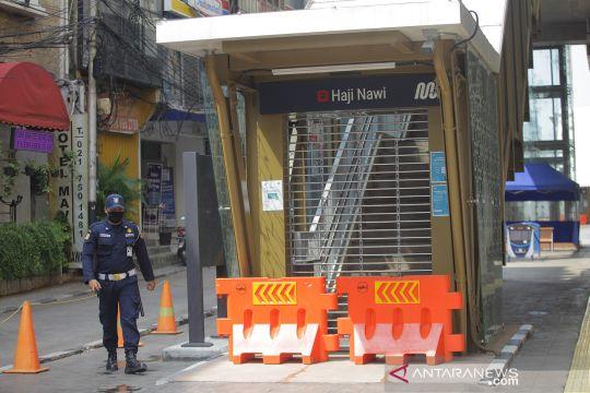MRT Jakarta tutup tiga stasiun